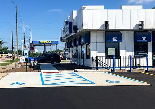 White Castle-Handicap Parking
