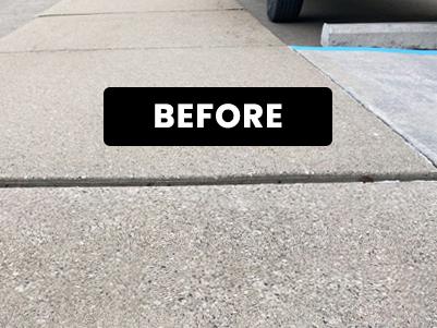 D&J Concrete Grinding-Before-Trip Hazard