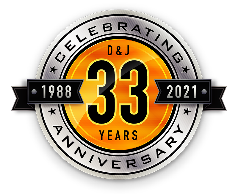 D&J Contracting Inc. Celebrating 33 year anniversary
